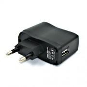Αντάπτορας Τοίχου Υψηλής Ποιότητας 5V 1A USB 100-240V - Μαύρο