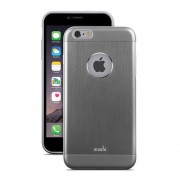 Moshi iGlaze Armour Slim Metallic Case for iPhone 6 Plus / 6s Plus (99MO080021) - Gunmetal Gray