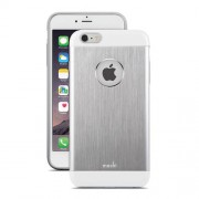 Moshi iGlaze Armour Slim Metallic Case for iPhone 6 Plus / 6s Plus (99MO080201) - Jet Silver