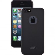 Moshi iGlaze Ultra Thin Hard Case for iPhone 5 5s SE (99MO061001) - Black