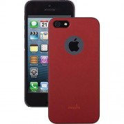 Moshi iGlaze Ultra Thin Hard Case for iPhone 5 5s SE (99MO061321) - Burgundy Red