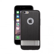 Moshi iGlaze Kameleon Hard Case with Kickstand for iPhone 6 / 6s (99MO079022) - Steel Black