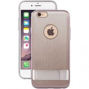 Moshi iGlaze Kameleon Hard Case with Kickstand for iPhone 6 / 6s (99MO079202) - Brushed Titanium