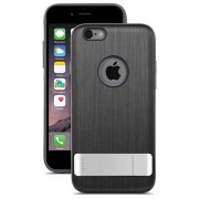 Moshi iGlaze Kameleon Hard Case with Kickstand for iPhone 6 Plus / 6s Plus (99MO080022) - Steel Black