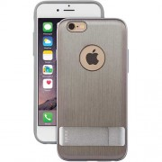 Moshi iGlaze Kameleon Hard Case with Kickstand for iPhone 6 Plus / 6s Plus (99MO080202) - Brushed Titanium