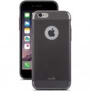 Moshi iGlaze Ultra Slim Hard Case for iPhone 6 Plus / 6s Plus (99MO080001) - Graphite Black