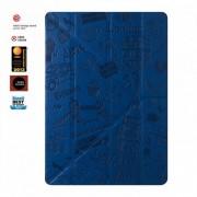 ΟΖΑΚΙ O!coat Travel Versatile New Generation 360°Multi-angle smart case for iPad Air 2 - London - Blue