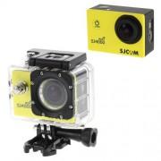 SJCAM SJ4000 12MP 1080P Wifi Ασύρματη Αδιάβροχη Κάμερα Full HD με Οθόνη 1,5 ίντσες για Υποβρύχια Σπορ και Άλλα Εξτρίμ Σπορ - Κίτρινο