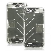For Apple For iPhone 4S Metal Middle Plate Chassis Replacement OEM - Silver