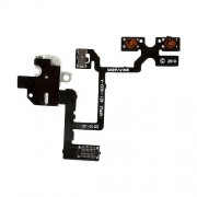 White Audio Earphone Jack Flex Circuit Cable for iPhone 4 4G