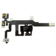 OEM For iPhone 4S Earphone Audio Jack Flex Cable Replacement Black