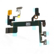 For iPhone 5S Power On/Off Volume Button Flex Cable Ribbon Replacement Parts