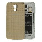OEM Battery Door Cover Replacement for Samsung Galaxy S5 G900 - Champagne