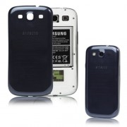 For Samsung i9300 Galaxy S iii Back Battery Cover Housing Replacement OEM - Blue