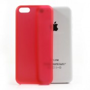 0.3mm Ultra Slim Plastic Cover for iPhone 5C - Red
