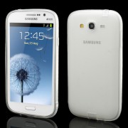 Λεπτή Θήκη Σιλικόνης TPU Ματ για Samsung Galaxy Grand I9080 I9082 / Grand Neo i9060 i9062 - Διάφανο