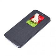 Nillkin Sparkle Series Δερμάτινη Θήκη Βιβλίο Smart Cover για LG G2 D801 D802 - Μαύρο