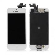 Οθόνη LCD και Digitizer Οθόνη Μηχανισμού Αφής + Μπροστινή Κάμερα +  Πλήκτρο Home + Ακουστικό για iPhone 5  - Λευκό