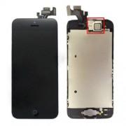 Οθόνη LCD και Digitizer Οθόνη Μηχανισμού Αφής + Μπροστινή Κάμερα +  Πλήκτρο Home + Ακουστικό για iPhone 5  - Μαύρο