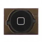 iPhone 4S Home Button with Rubber Pad - Black