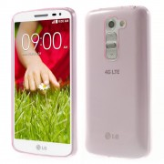 Ultra Slim 0.6mm TPU Shell for LG G2 Mini D620 D618 - Rose