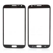 Πρόσοψη (Τζαμάκι) για  Samsung Galaxy Note ii N7100 - Μαύρο