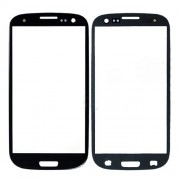 Front Glass Lens Screen Cover for Samsung i9300 Galaxy S III S3 - Black