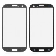 For Samsung i9300 Galaxy S III S3 Front Glass Screen Lens - Grey