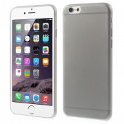 Slim 0.3mm Matte Plastic Case for iPhone 6 / 6s - Grey