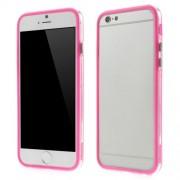 Θήκη Bumper Σιλικόνης TPU και Πλαστικό για iPhone 6 / 6s - Φούξια