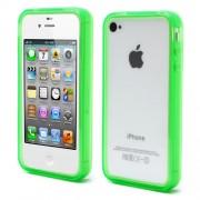 Θήκη Bumper Σιλικόνης TPU για iPhone 4s 4 - Πράσινο