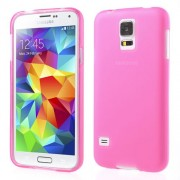 Rose Double-sided Matte TPU Case for Samsung Galaxy S5 G900