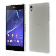 Θήκη Σιλικόνης TPU Ματ για Sony Xperia Z2 D6502 D6503 D6543 - Διάφανο