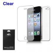 Clear Full Body Screen Protector Guard Front + Back for iPhone 4 4S
