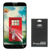 For LG L90 Dual SIM D410 Super Clear HD LCD Screen Protector (with Black Package)