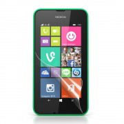 Clear LCD Screen Protector Film for Nokia Lumia 530 Dual SIM RM-1019 / Nokia Lumia 530 RM-1017