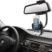 Universal Περιστρεφόμενη Βάση Αυτοκινήτου Καθρέφτη για Smartphones με πλάτος 40mm-100mm (50000667)