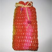 Summer Crochet Case Pouch for iPhone 5 / 5s / 5c / Galaxy S4 mini / s3 mini - Colorful