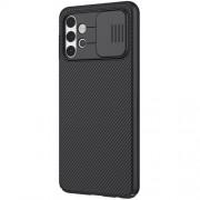 NILLKIN CamShield Σκληρή Θήκη με Πορτάκι για την Κάμερα για Samsung Galaxy A32 5G - Μαύρο