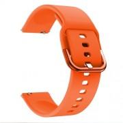 22mm Silicone Watch Strap Band for Samsung Galaxy Watch 46mm - Orange