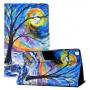 Δερμάτινη Θήκη Πορτοφόλι με Βάση Στήριξης για Samsung Galaxy Tab A7 Lite / T220 / T225 - Δέντρο το Φθινόπωρο