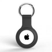 A002 Θήκη Σιλικόνης για το Apple AirTag Locator Tracker - Μαύρο