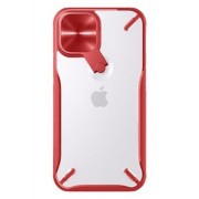 NILLKIN Cyclops Σκληρή Θήκη με Προστασία για την Κάμερα για iPhone 12 Pro Max - Κόκκινο