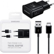 Samsung EP-TA20EBEC Fast Travel Charger with Cable Type-C - Black