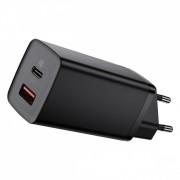 Baseus GaN2 Lite USB USB-C 65W Fast Travel Charger 65W - Black