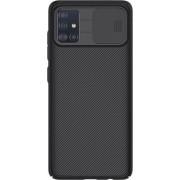 NILLKIN CamShield Σκληρή Θήκη με Πορτάκι για την Κάμερα για Samsung Galaxy A51 - Μαύρο