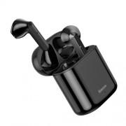 BASEUS W09 Encok TWS Bluetooth 5.0 Wireless Earphones with Charging Bin - Black