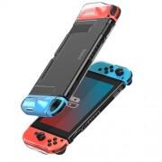 BASEUS GS07 SW Basic Case PC Cover with Joystick Keycaps for Nintendo Switch - Transparent