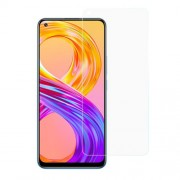 Ultra Clear 0.3mm Arc Edge Tempered Glass Phone Screen Protector Film for Realme 8 Pro