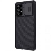 NILLKIN CamShield Σκληρή Θήκη με Πορτάκι για την Κάμερα για Samsung Galaxy A72 4G/5G - Μαύρο